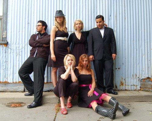 Clockwise from left: Salvatore Antonio, Anna Hardwick, Ingrid Rae Doucet, Ennis Esmer, Melissa-Jane Shaw, Pamela Rhae Ferguson