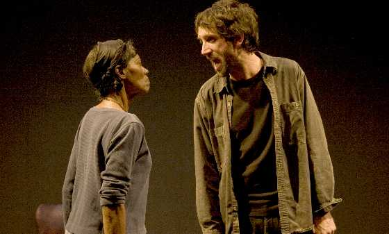 Lili Francks and Gord Rand in Goodness