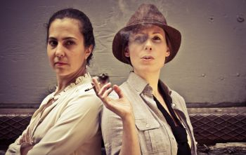 Aviva Armour-Ostroff and Margaret Evans