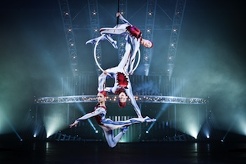 Performers from Cirque du Soleil: Quidam, Photo by Matt Beard