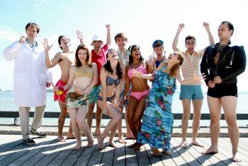 tiki bikini beach paradise party a-go-go cast picture