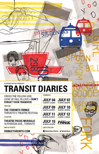 The poster for Transit Diaries.