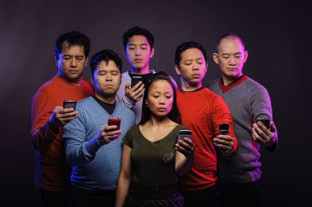 photo of the cast of Asiansploitation: The Text Generation by Ralph Nogal