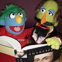 A Midsummer Night's Dream...A Puppet Epic. Shakey and Zip