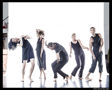 Eunoia Dancers Lucy Rupert, Claudia Moore, Miko Sobreira, Rebecca Hope Terry, and Gerry Trentham,