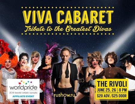 Viva Cabaret with Yury Ruzhyev