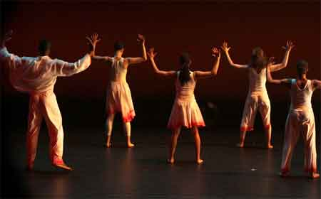 Ballet Creo;e's production of Soulful Messiah at harbourfront