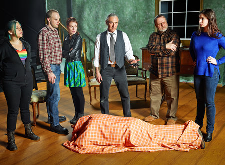 Review: Death in a Black Suit (Scarborough Theatre Guild) | Mooney