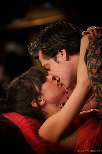 Photo of Caroline Toal and Daniel Briere in Dangerous Liaisons