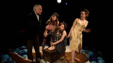 Cast of Leroy Street Theatre production of Out at Sea