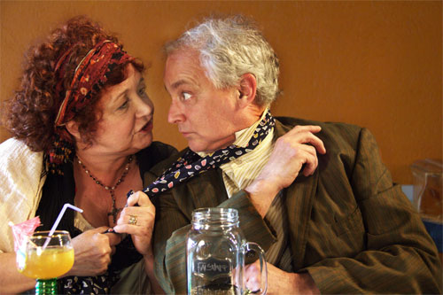 Photo of Lynne Griffin & Sean Sullivan by Madison Golshani & Daniel Pascale from the Toronto Fringe Festival
