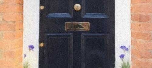 Photo of door