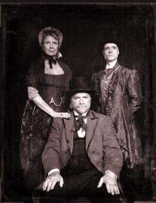 """Laurel Paetz, Craig Walker, Christopher Blackwell in """"Exposure"""""""