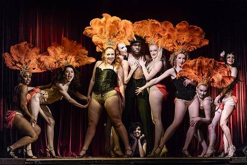 photo of love letters cabaret dancers