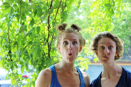 Kelly MOrden and Emma Ketki - Toronto Fringe