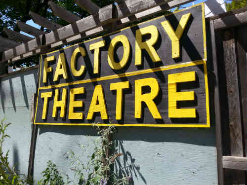 Photo of Factory Theatre Sign
