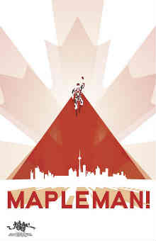 Photo of Mapleman Canuck Crusader