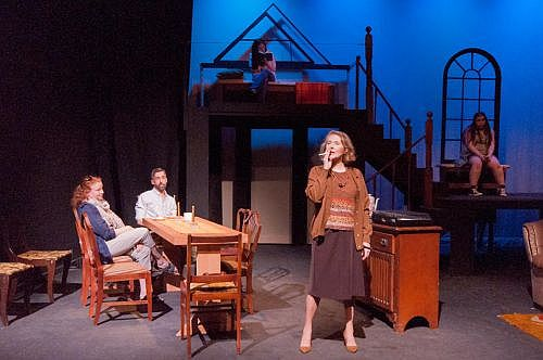 The cast of August: Osage County, now onstage at Alumnae Theatre in Toronto