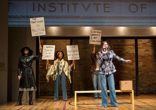 Photo of Raquel Duffy, Sophia Walker, Laura Condlln & Michelle Monteith in The Heidi Chronicles by Cylla von Tiedemann