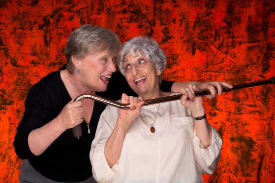 photo of Amber Karen Kelm and Judith Chertkow Levy