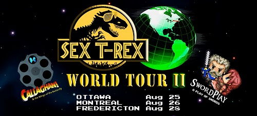 Image from Sex T-Rex World Tour 2.