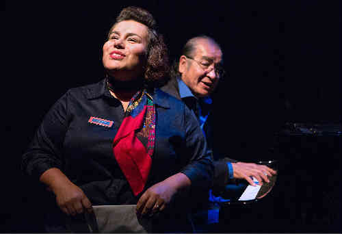 Photo of Patricia Cano and Tomson Highway