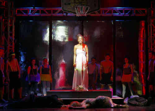 Photo of Tiyana Scott as Carrie White