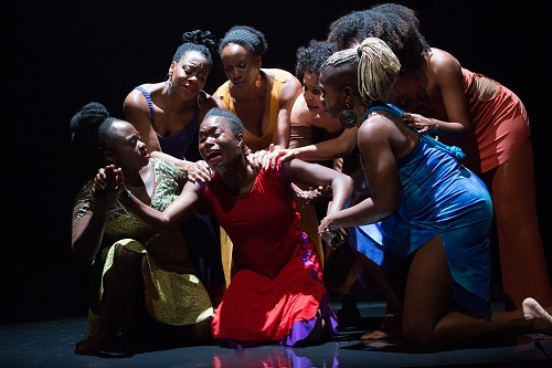 Photo of the cast of For Colored Girls... by Cylla Von Tiedemann