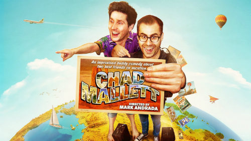 In Chad Mallett, Matt and Ted mischievously navigate playing themselves, each other, and all other characters inhabiting the world they create. Get ready for the vacation of a life time.
