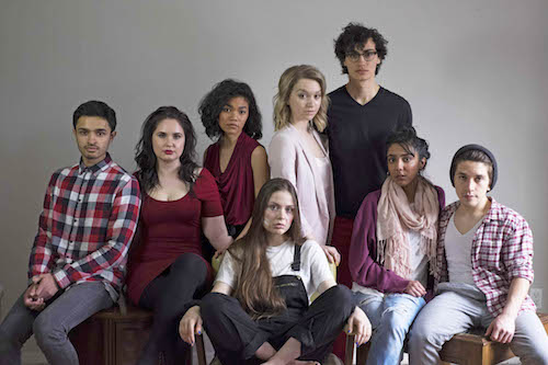Photo of cast of Perfect Couples at Toronto Fringe