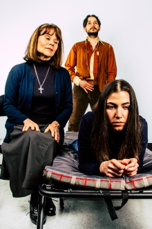 Photo of Kristin Samuelson, Alexander Reed and Lindsay Danielle Gitter by John Robert Hoffman.