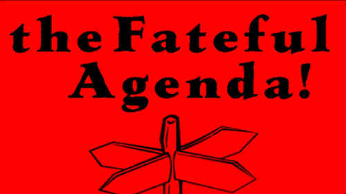 Poster of Fateful Agenda