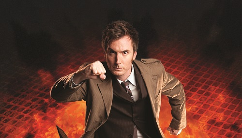 photo of the tenth Doctor, David Tennant