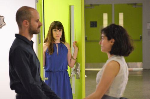 Photo of Daniel Cristofori, Kayla Whelan, and Ermina Pérez by Gerald Gilmore