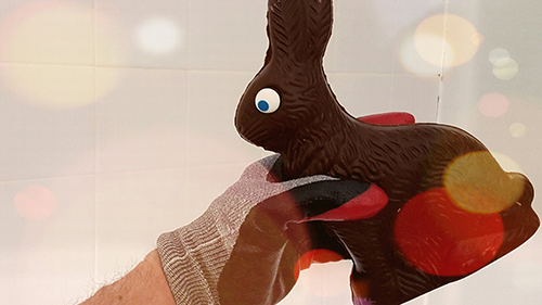 Photo of chocolate Easter Bunny