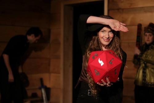 Kaitlin Morrow in D&D Live!