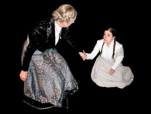Photo of Catherine Meyer and Nicole Marie McCafferty in Restless Spirit