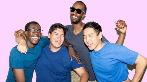 Photo of Tim Blair, Vance Banzo, Guled Abdi and Franco Nguyen in A 6IX NNNNNN REVUE