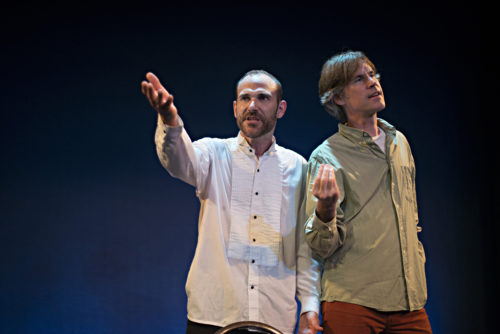 Photo of Jon Paterson and Martin Dockery in Inescapable