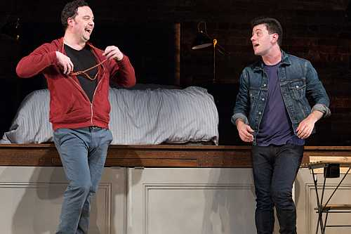 Photo of Gregory Prest and Paolo Santalucia in Bed and Breakfast, Soulpepper