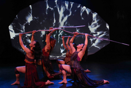 Photo of Kaha:wi Dance Theatre in Blood Tides