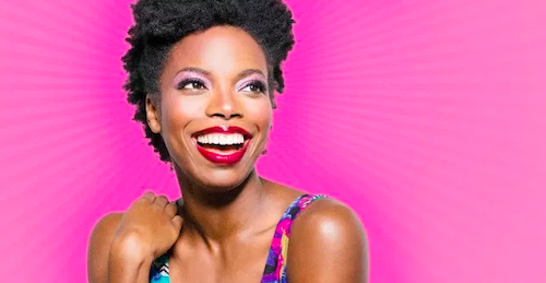 Photo of Sasheer Zamata provided by the Toronto Sketch Comedy Festival