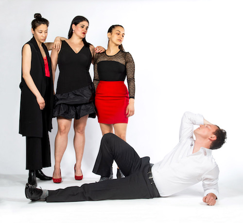 Photo of Mayko Nguyen, Ashley Botting, Sofía Rodríguez, and Jesse LaVercombe by Joseph Michael Photography