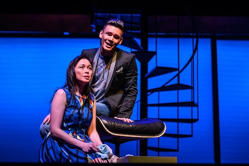 Photo of Ma-Anne Dionisio and Brandon Antonio by Dahlia Katz.