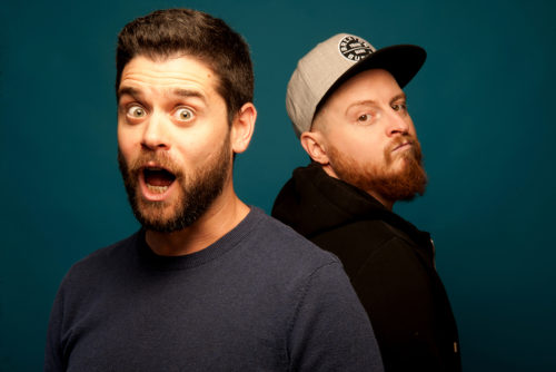 "Photo of Eytan Millstone and Jay Wells from ""Comedy Records Presents: Jay and Eytan"""