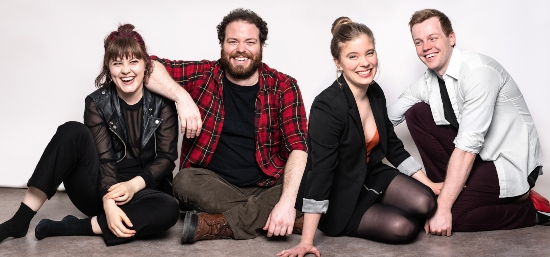 "Cast Photo for ""Moving On"" at the 2019 Toronto Fringe Festival"