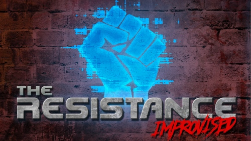 "Promo art for ""The Resistance Improvised"""