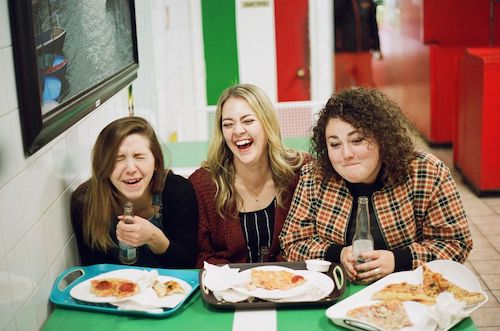 Photo of Mallory Morgan, Katie Preston, and Heather Gallant in HerBeaver