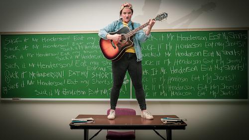 Photo of Alli Harris in High School High