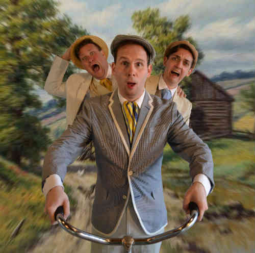 Photo of David DiFrancesco, Matt Pilipiak, Victor Pokinko in Three Men On a Bike